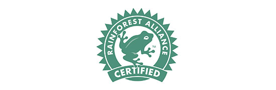 Anton Duerbeck Fruchtimport Zertifikat RainforestAlliance